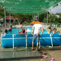 Bể bơi di động thông minh kích thước 3.6m x 6.6m