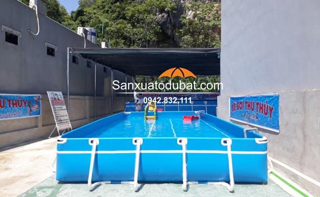 Bể bơi di động kích thước 5.1*9.6