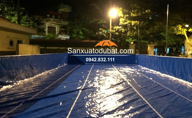 Bể bơi lắp ghép kích thước 5.1*12.6