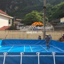 Bể bơi di động kinh doanh