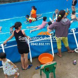 Bể bơi di động thông minh 6.6*12.6