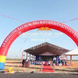 Cổng hơi sự kiện đường kính 20M x cao 10M