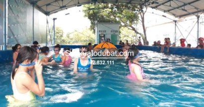 Dự án bể bơi thông minh lắp đặt tại Nghĩa Hưng , Gia Lai