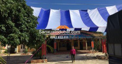 Dù che sân trường tại Huyện Lạc Sơn – Hoà Bình