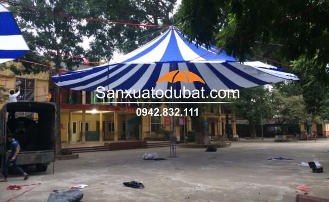 Dù che sân trường tại Mê Linh – Hà Nội