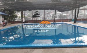 Hồ bơi bằng bạt âm dưới đất