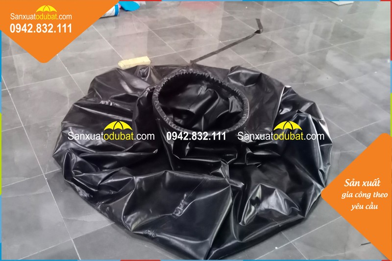 Túi chứa nước ngọt di động hình củ tỏi