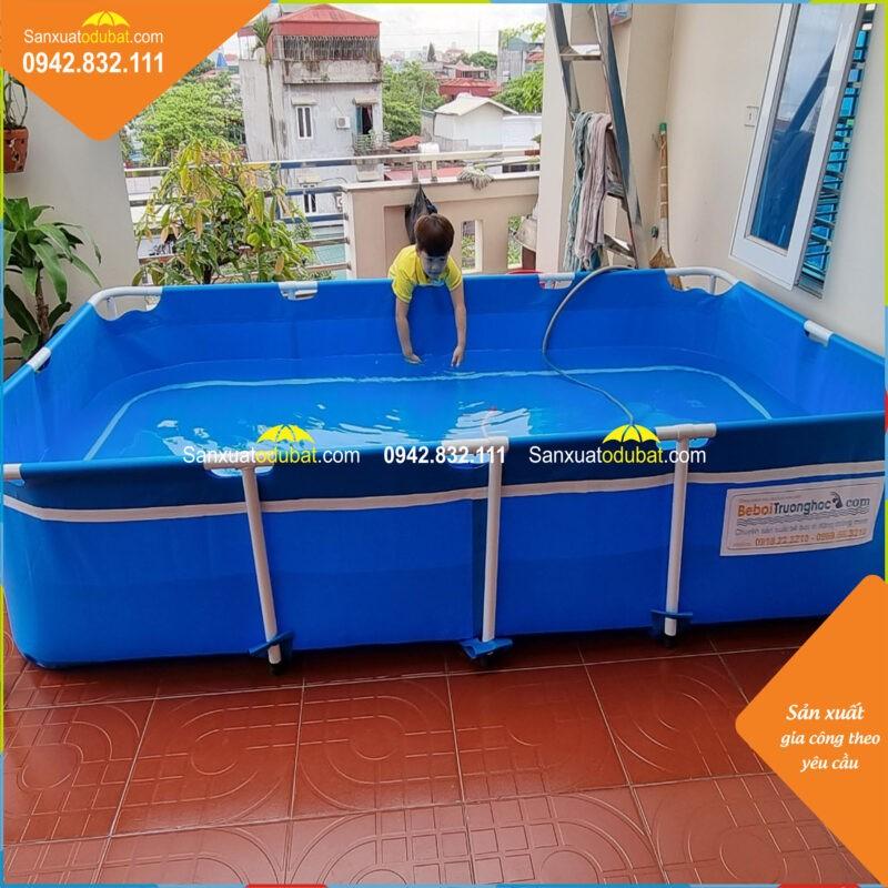 Bể bơi mini KT2.8x1.6x0.6m